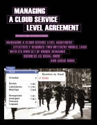 Managing a Cloud Service Level Agreement