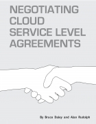 Negotiating Cloud Service Level Agreements