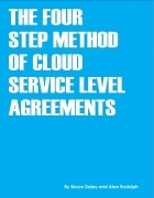 The Four Step Method of Cloud Service Level Agreements