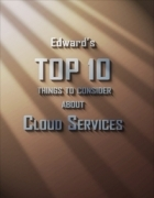 Top Ten Things to Consider About Cloud Services